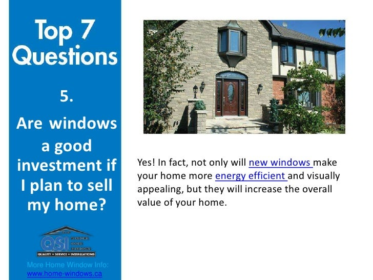 Top 7 Questions When Buying Home Windows