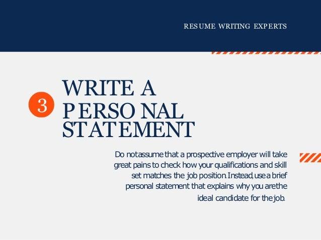 RESUME WRITING EXPERTS ...