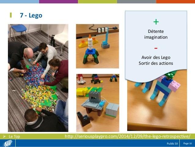 Page 18Public SII  Le Top 7 - Lego + Détente imagination - Avoir des Lego Sortir des actions http://seriousplaypro.com/20...
