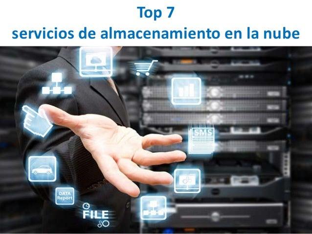Top 7 servicios de almacenamiento en la nube