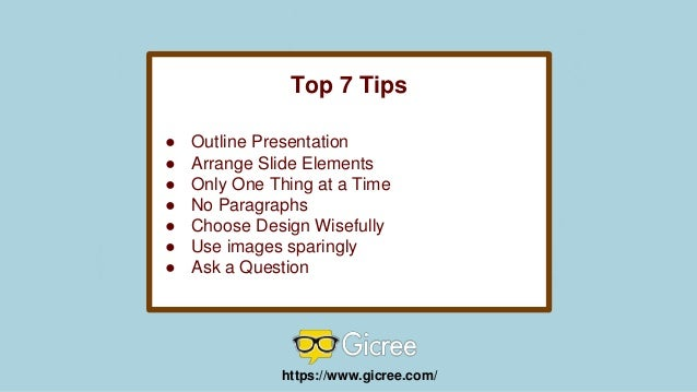 tips for an effective powerpoint presentation