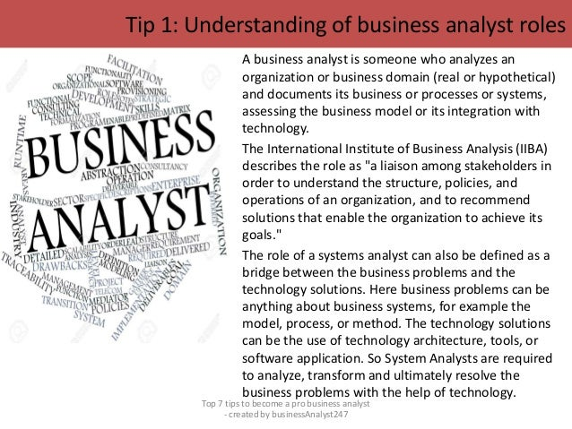 Top 7 tips to become a professional business analyst pdf Slide 2