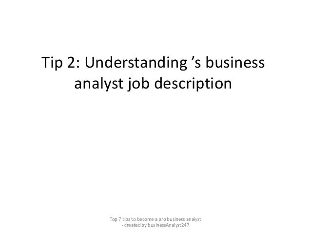 Top 7 tips to become a professional business analyst pdf Slide 3