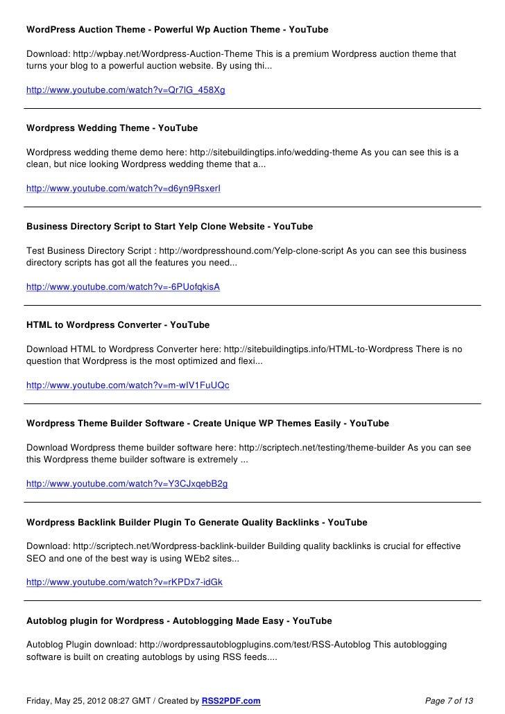 Top 80 WordPress Themes and Plugins - 웹