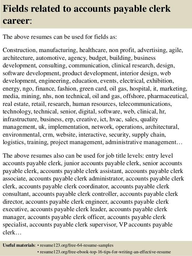 Resume-samples-clerk-resumesgeneral-clerk - fullaccess.us - High ...