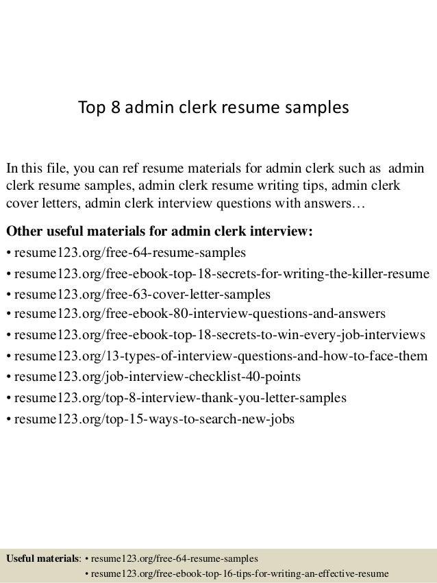 sle resume administrative clerk resume ixiplay free