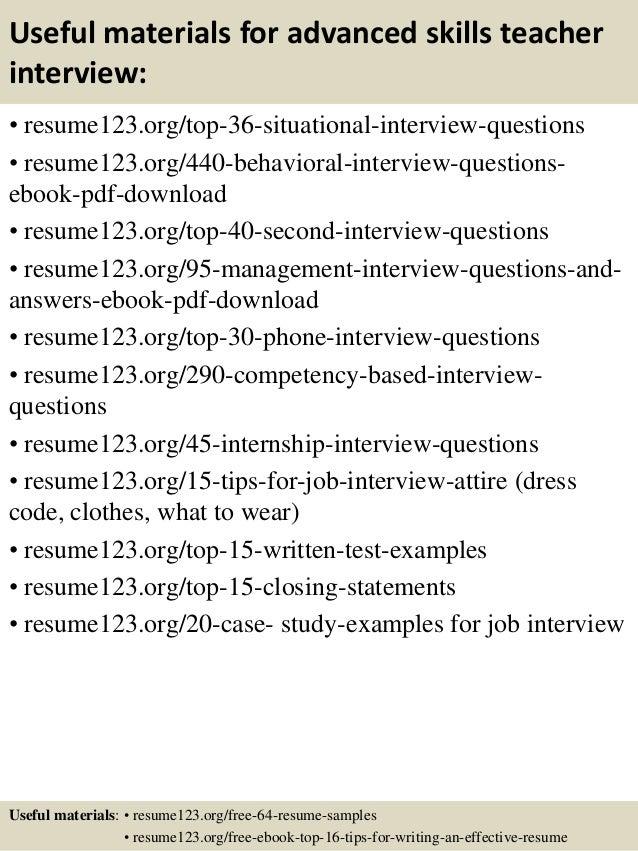 Resume For Science Teacher | Resume CV Cover Letter