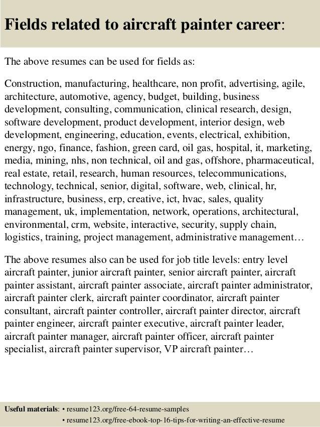 sample painter resume resume cv cover letter