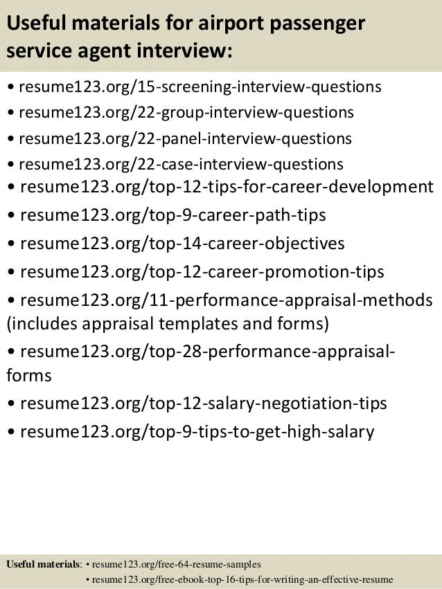 Resume For Airlines Customer Service Agent. airline customer ...