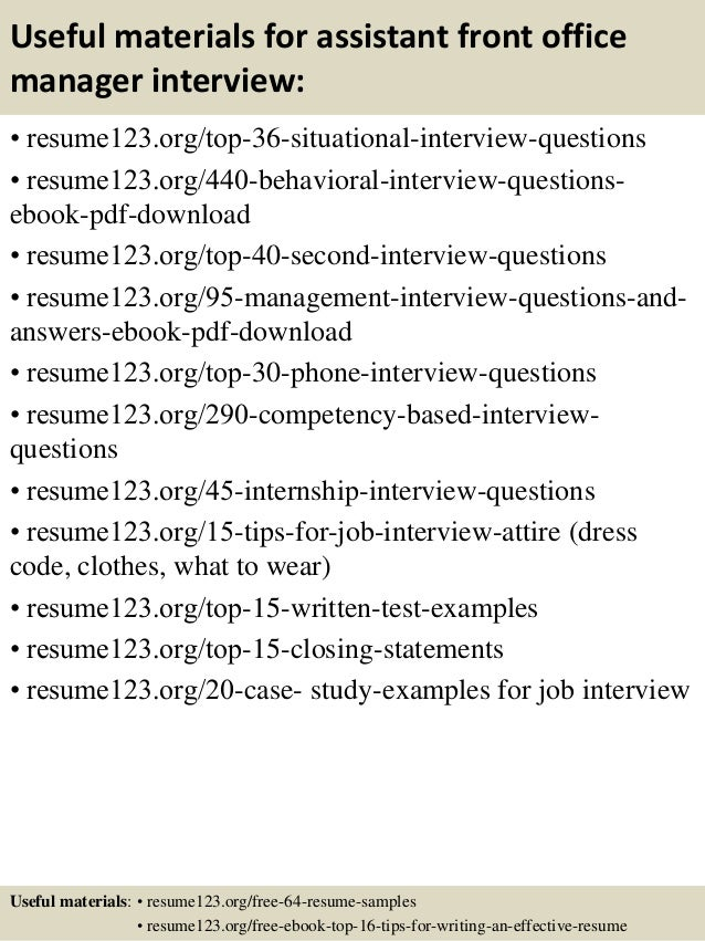 example of office manager resume