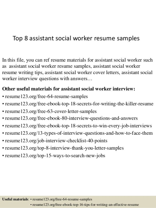 Social Worker Resumes Resume Family Support Worker Sales Worker