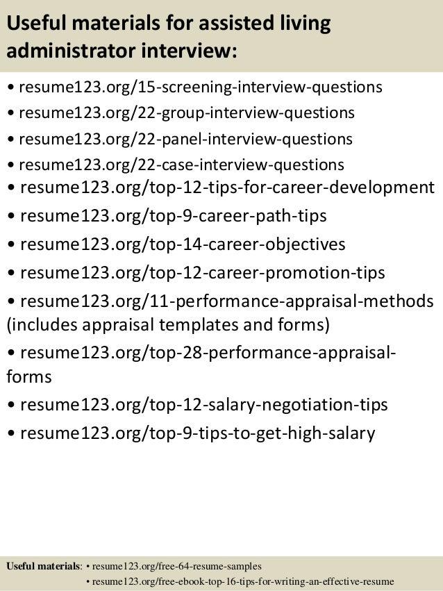 living career resumes