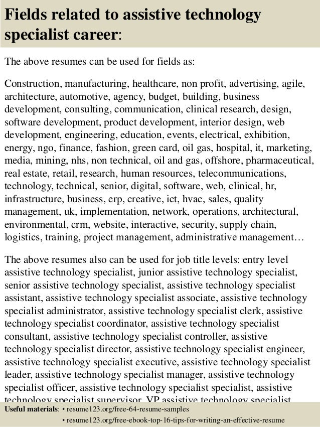 Instructional Technology Specialist Resume. instructional technology ...