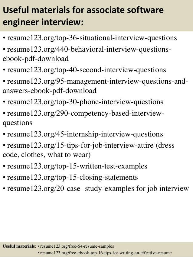 software engineers resumes