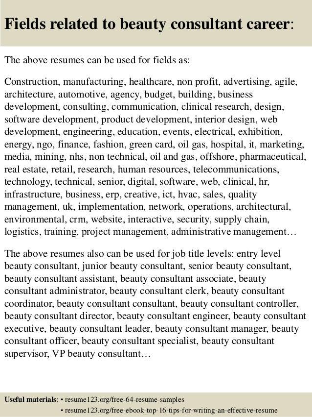 Lancome Beauty Advisor Sample Resume] Professional Lancome ...