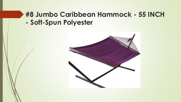 polyester  2   7 driftsun double hammock with steel stand     top 8 best hammock with stands reviews in 2018  rh   slideshare