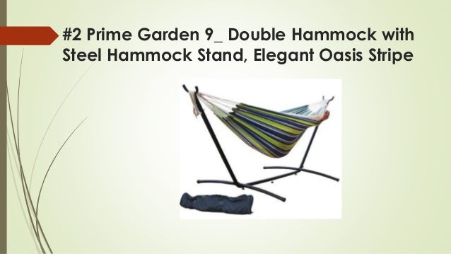 1 vivere tropical double hammock with steel stand     top 8 best hammock with stands reviews in 2018  rh   slideshare