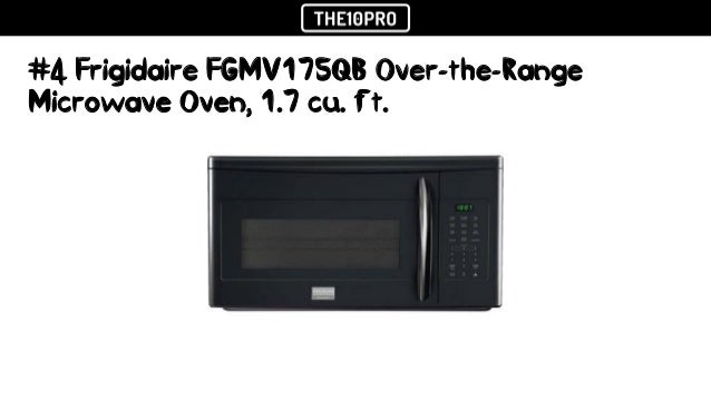 Top 8 Best Over The Range Microwave Ovens In 2018 Reviews