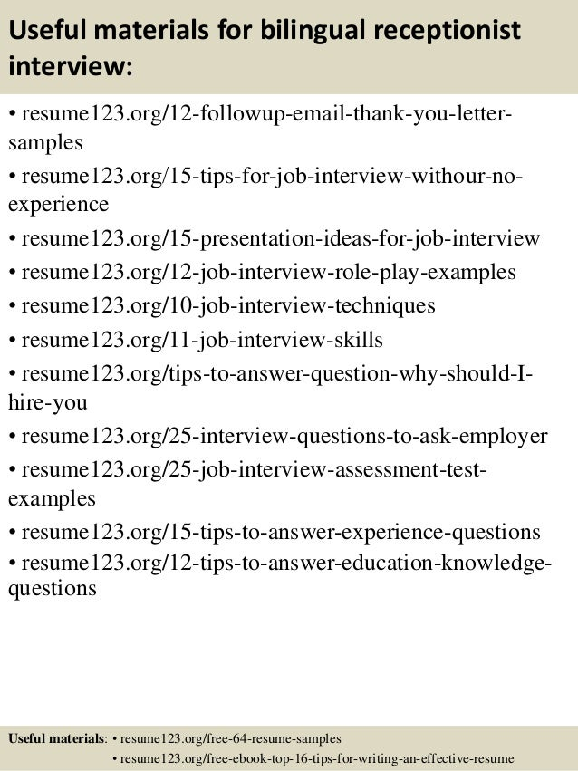 Sample Resume For Bilingual Teacher - frizzigame