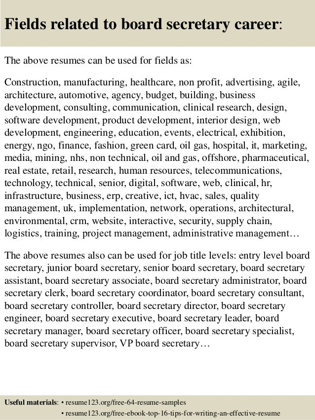 Top Resume Boards Dalarconcom