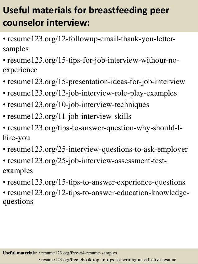 Sample Counselor Resume | Resume CV Cover Letter