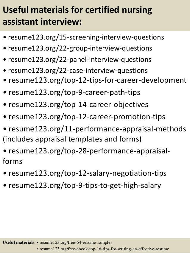 cna job description for resume - Romeo.landinez.co