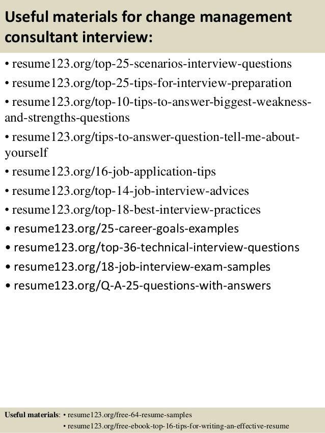 13 - Business Consultant Resume Sample