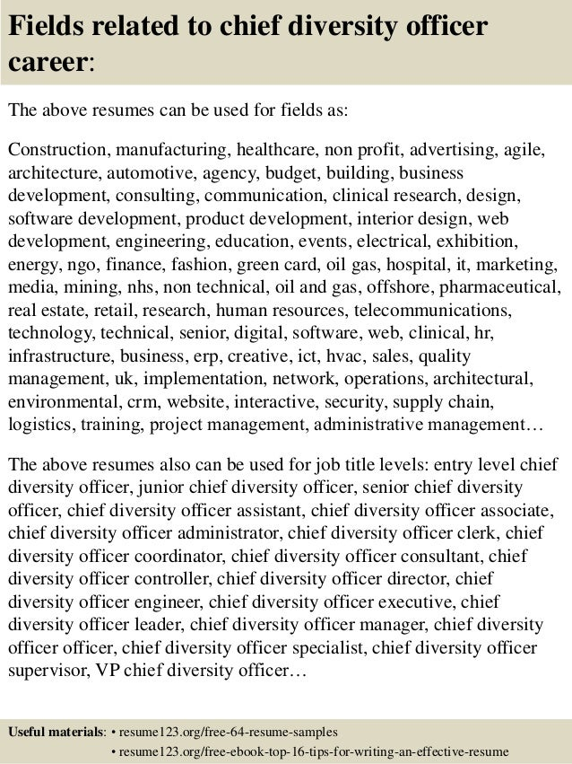 Lovely ... 16. Fields Related To Chief Diversity Officer ...