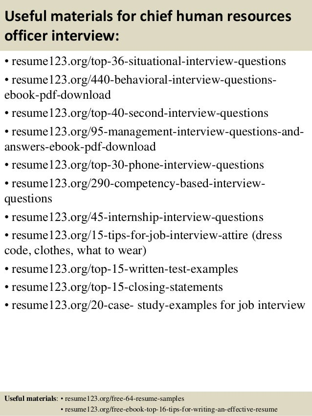 12 useful materials for chief human resources officer - Chief Hr Officer Sample Resume
