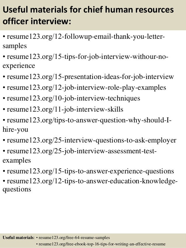 14 useful materials for chief human resources officer - Chief Hr Officer Sample Resume