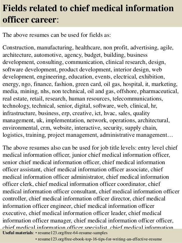 medical officer resumes