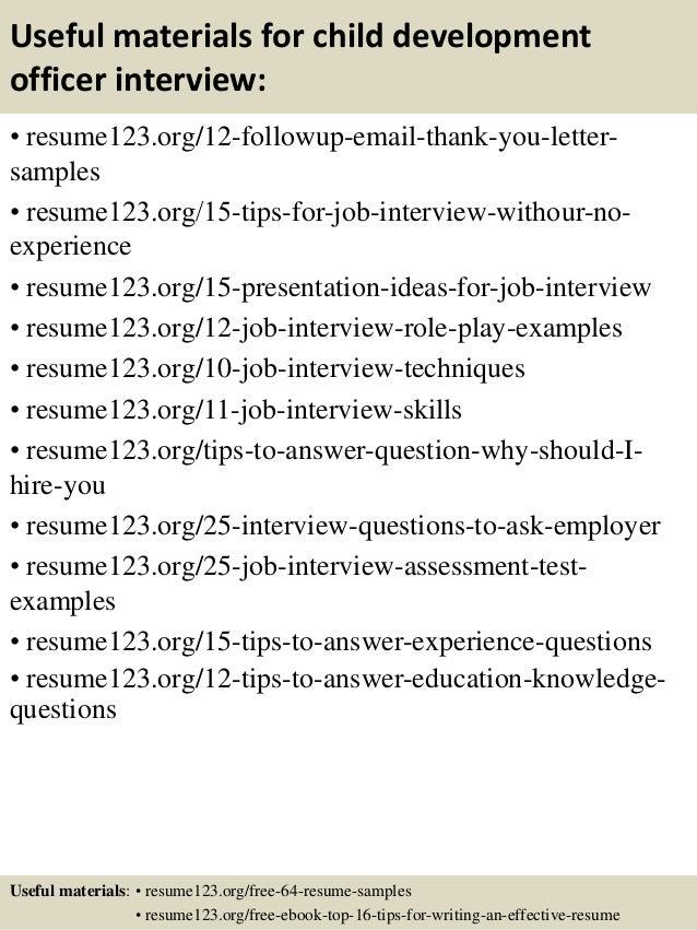 14 useful materials for child development child development resume