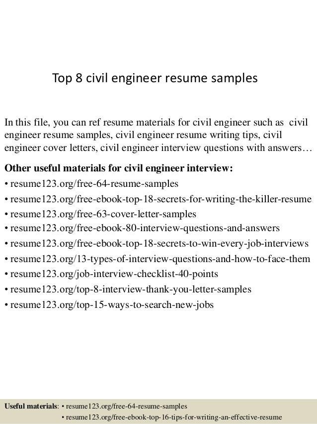 junior site engineer resume