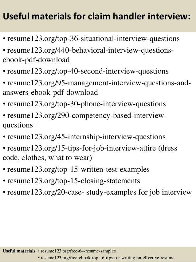 material handler resume samples - Material Handler Resume
