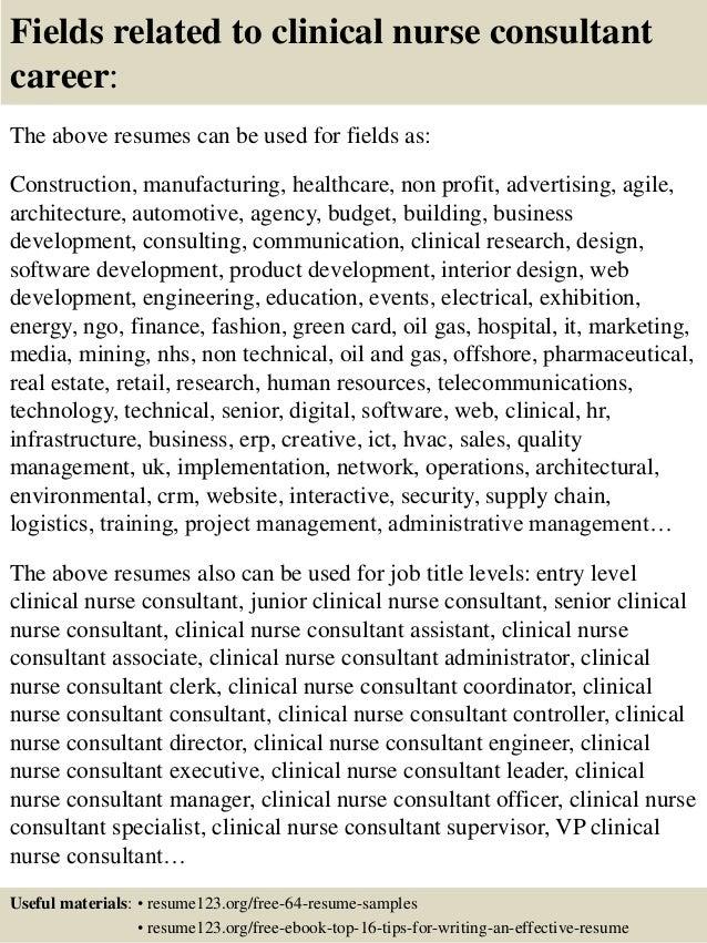 Sample Clinical Nurse Specialist Resume Zrom