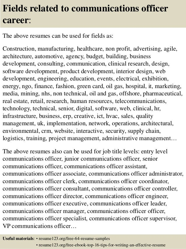 Resume Tips Resume Components Objective Guest Relation Officer Resume  Objective