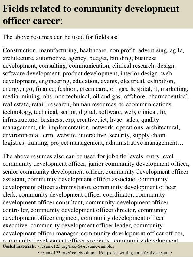 development resumes