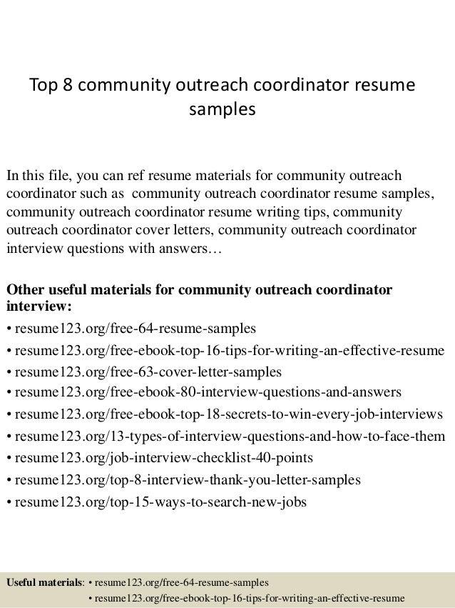 volunteer coordinator cover letter sample 317464 manager ...