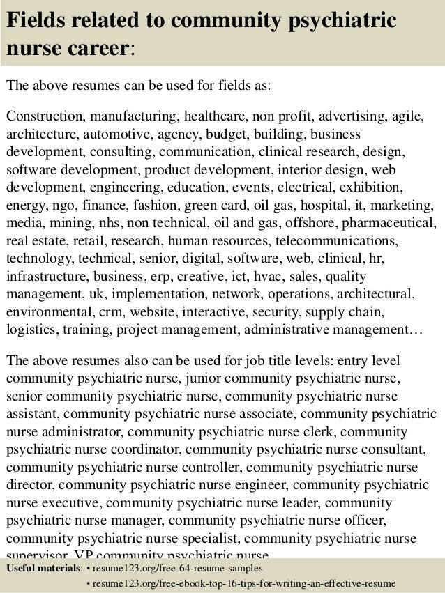 mental health nurse resume - Sample Psychiatric Nurse Resume