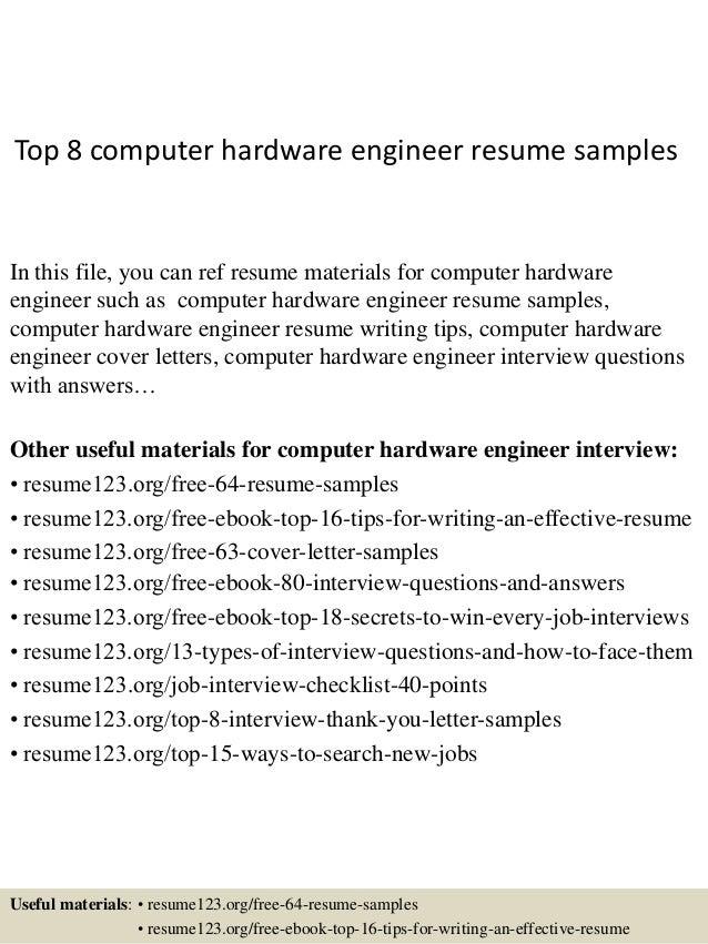 it hardware resume