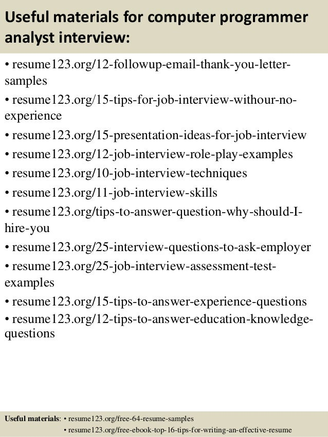 Programming Resume Examples best programming resume  developer resume  example  good developer resume  it Resume Cover Letter