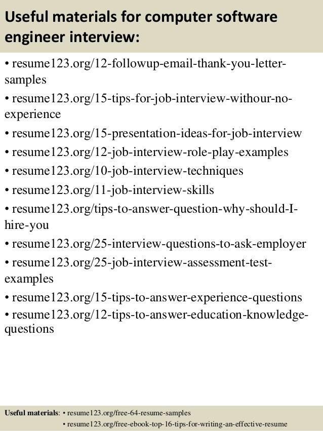 Guide Software Developer Resume 12 Samples Word Pdf