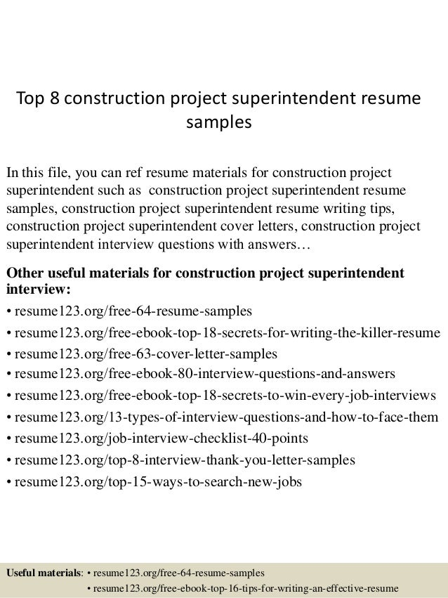 top-8-construction-project-superintendent-resume -samples-1-638.jpg?cb=1438222685
