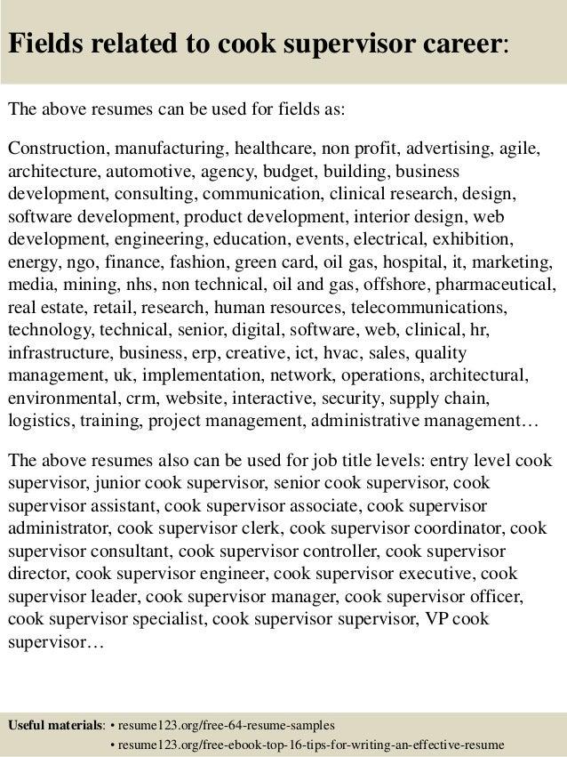Cook Supervisor Ukrandiffusion