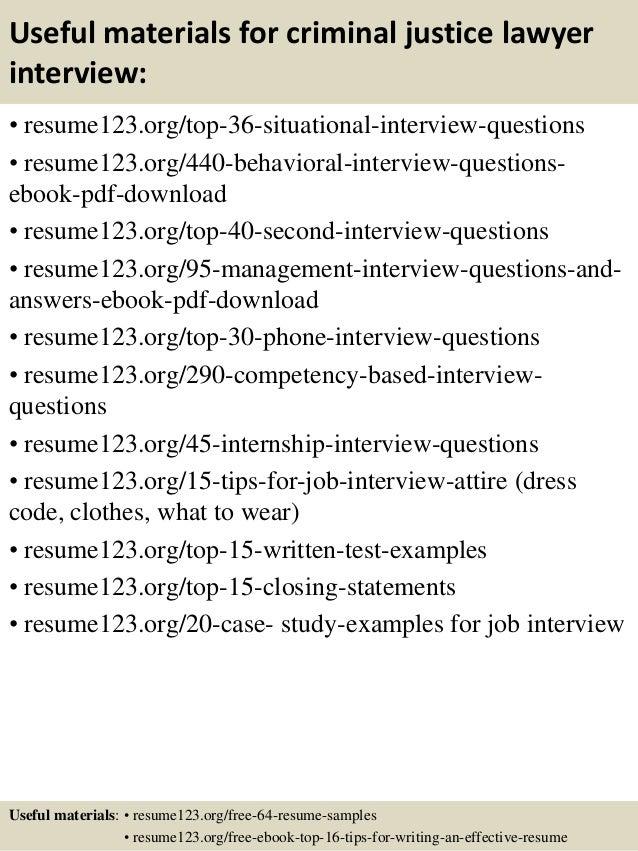 ... 12. Useful Materials For Criminal Justice ...  Criminal Justice Resume Samples