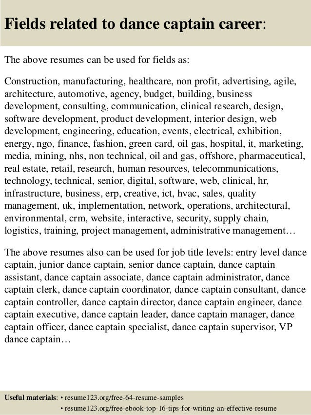 Dance Resume Outline Eps Zp  Dancer Resume
