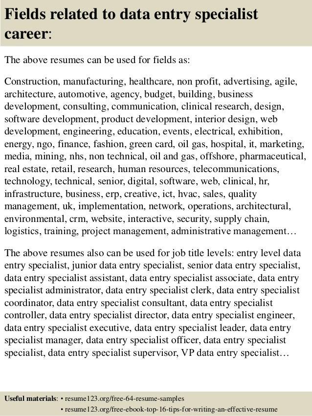 Hr services resume mining MyPerfectResume com