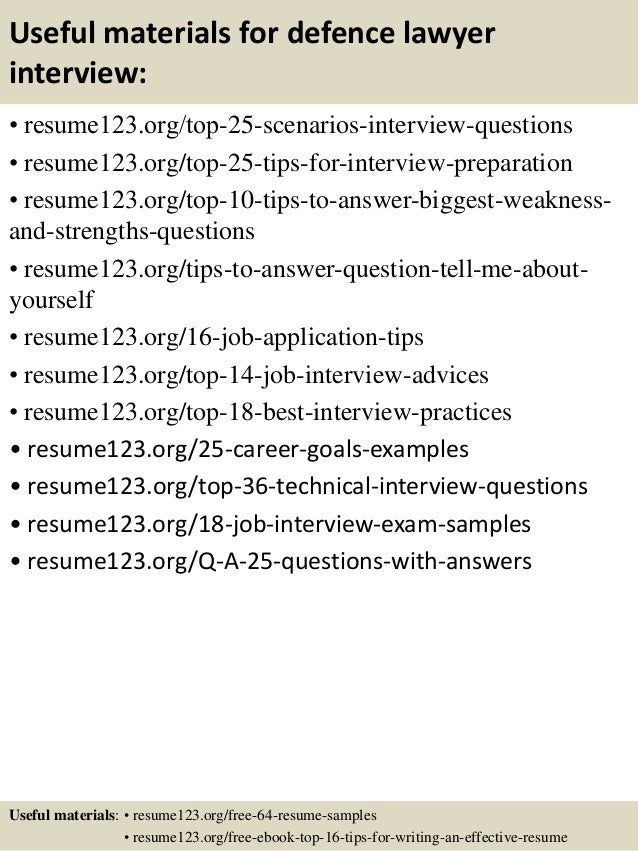 13 useful materials for defence - Defence Engineer Sample Resume