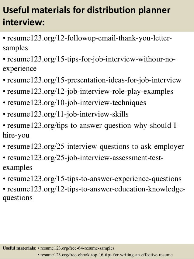 resume distribution services free