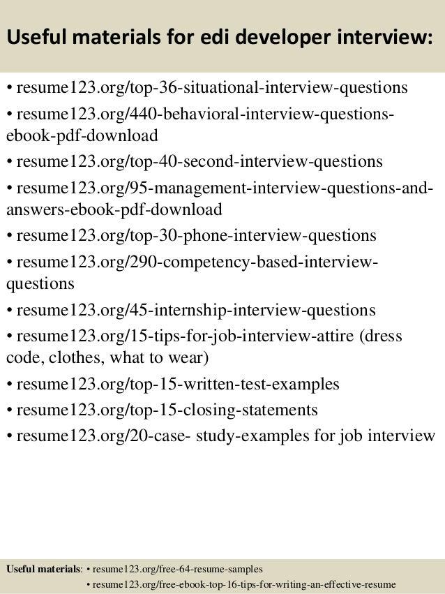 Amazing Edi Resume